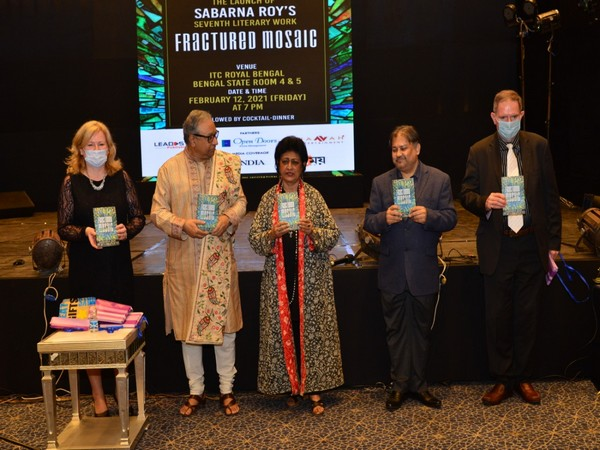 """The seventh literary work of Sabarna Roy, """"Fractured Mosaic"""" unveiled"""