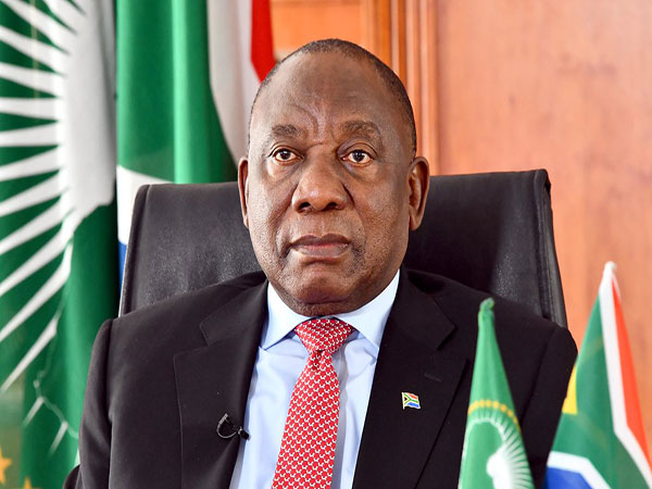 S. African president warns against stigmatization of COVID-19 patients