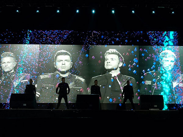 Westlife shines in Palembang following less satisfactory concerts in Jakarta