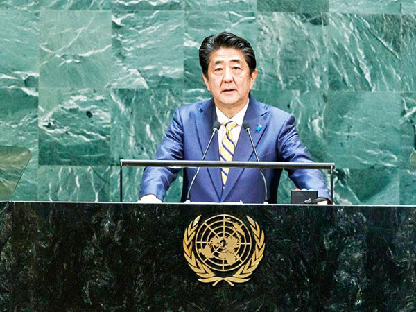 Abe reassures State Counsellor of support