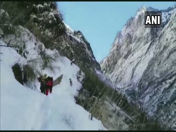 Officials said that the missing individuals were believed to have been caught in a snowslide.