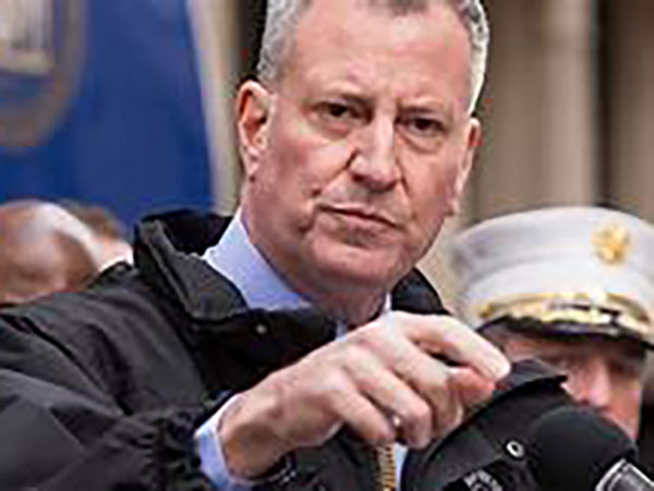 NYC Mayor De Blasio calls for coronavirus bailout, eyes reopening city's economy in July, August