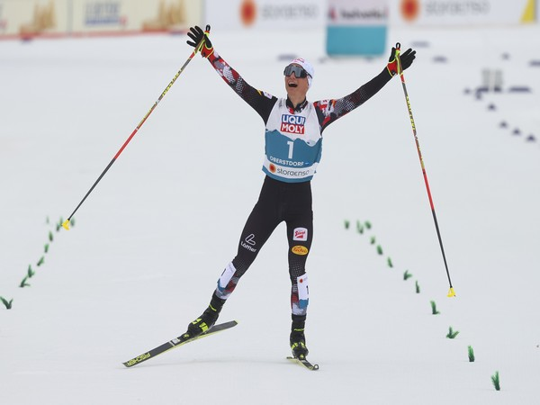 Lamparter powers to Nordic Combined large hill gold at world ski championships