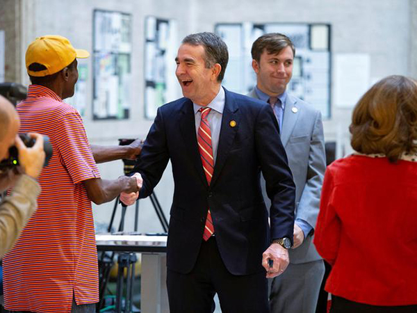 Virginia's Ralph Northam to ban guns from Capitol grounds, officials say
