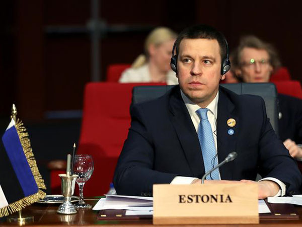 Estonian Prime Minister Resigns Over Corruption Scandal, Reports Say