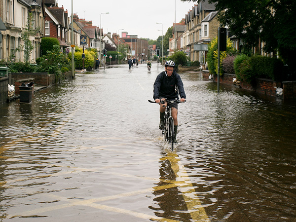 North England hit by torrential rain and flooding