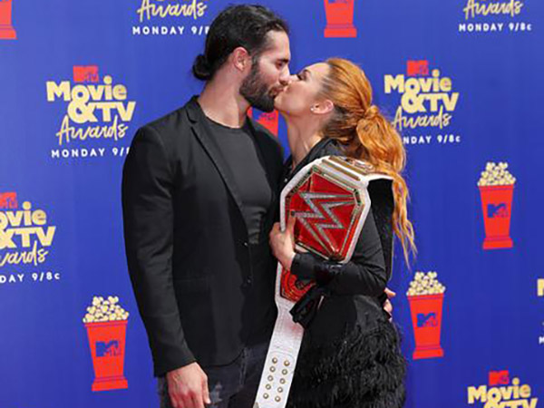 WWE stars Becky Lynch and Seth Rollins are engaged