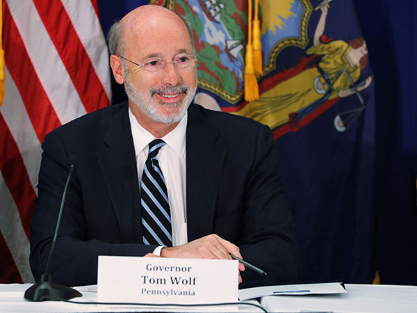 Pennsylvania governor vetoes bill to reopen state's restaurants at full capacity