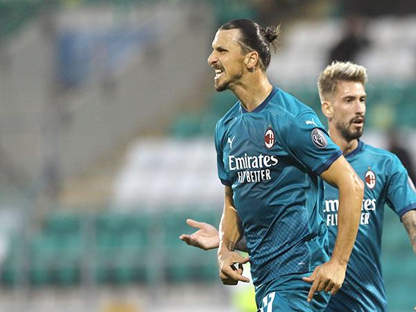 Ibra's brace inspires 10-man Milan past Cagliari in Serie A