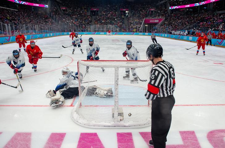 Beijing 2022 ice hockey test program underway