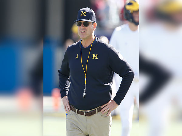 Jim Harbaugh scrutinized as Michigan goes behind early against Rutgers