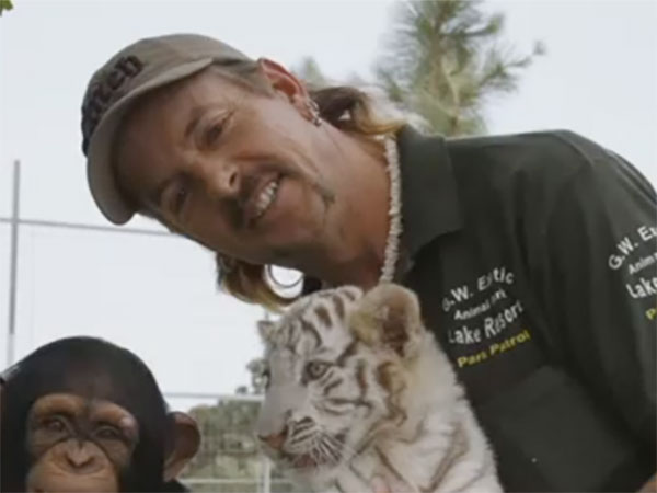 'Tiger King' star Joe Exotic says he's 'ashamed' of past behavior in prison interview