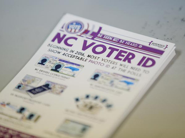 North Carolina voter ID law blocked by appeals court as discriminatory