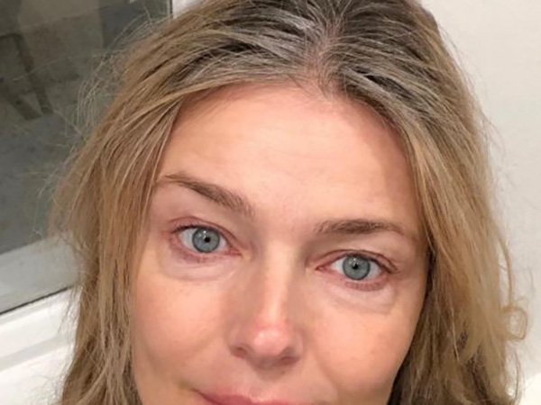 Paulina Porizkova posts makeup-free pic, says she feels 'insecure': 'Trying to come to terms with my aging'