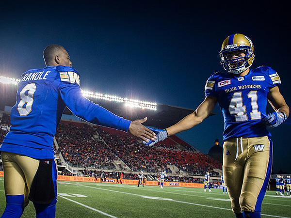 Bombers, Ticats arrive in Calgary seeking 1st Grey Cup title this century
