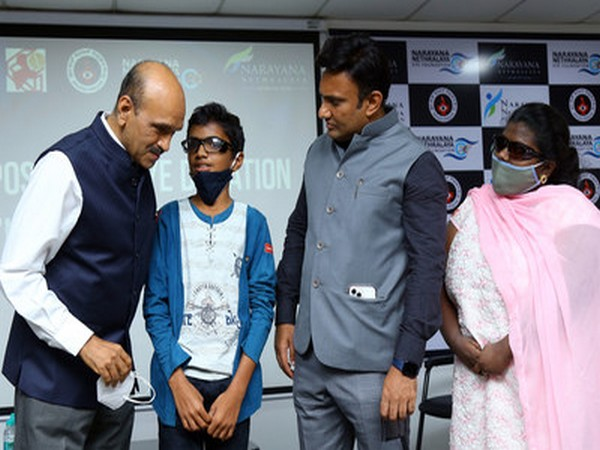Karnataka's Health Minister Dr Sudhakar commends Narayana Nethralaya's initiative on organ donation