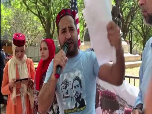 Activists and protestors representing various minorities of Pakistan went above and beyond to show Imran Khan that he's not welcomed in the U.S.