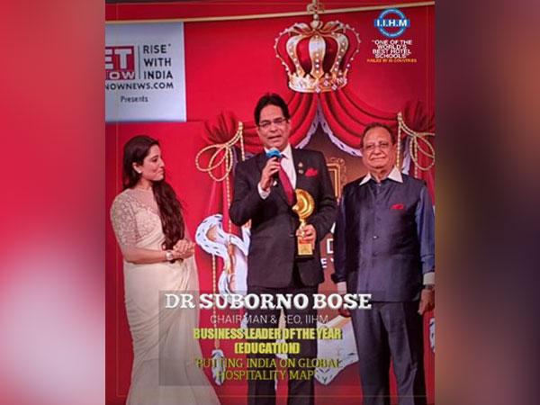 Dr Suborno Bose, Chairman and CEO of IIHM