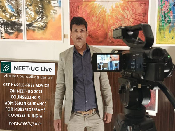 """NEET-UG Live launches """"Virtual Counselling Centre"""""""