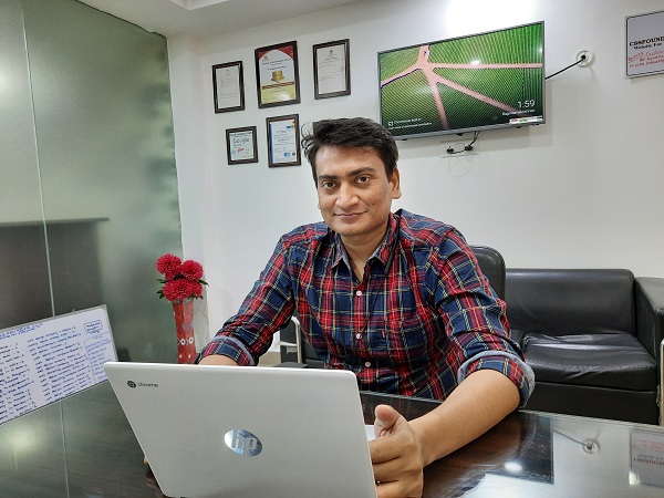 Rajaneesh Rai, the young entrepreneur says legoaid will bring a new revolution to solve legal problems in India after a pandemic era