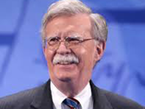 Bolton says he won't be voting for Trump or Biden