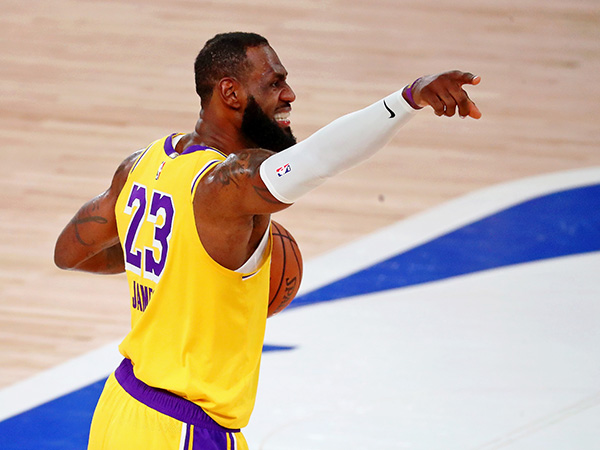 LeBron James 'pissed' over finishing second for MVP - again