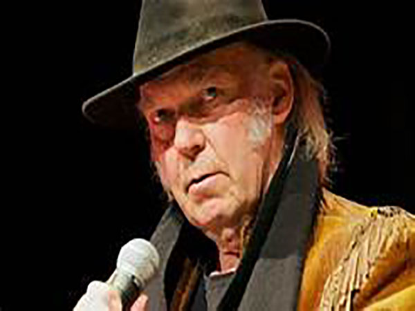 Neil Young pens open letter to Trump, updates old song 'Looking For a Leader': 'We got to vote him out'