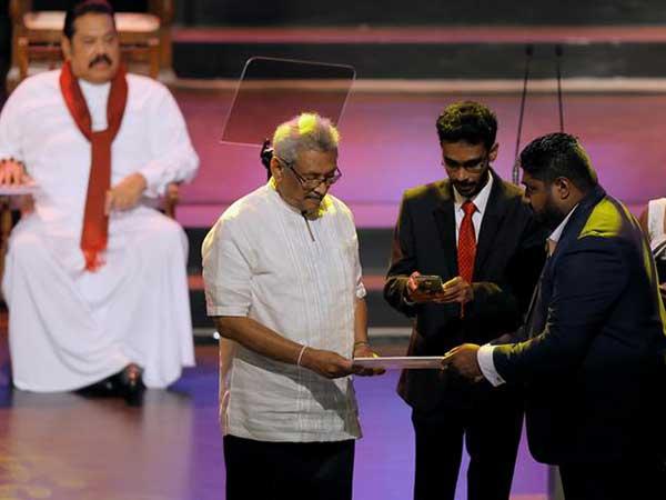 Sri Lanka's interim cabinet under new President sworn-in