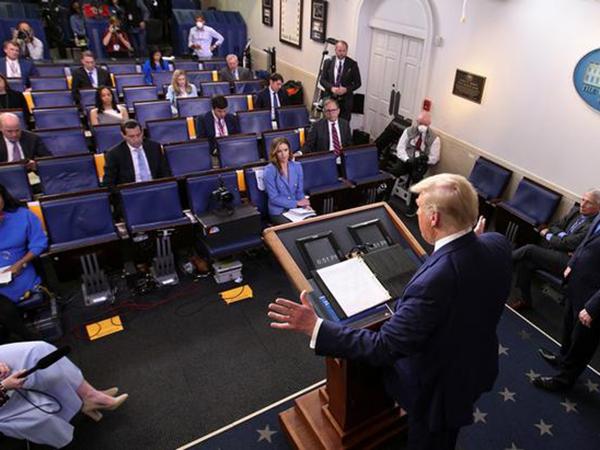 Reporter's Notebook: Coronavirus shakes up the best beat in Washington