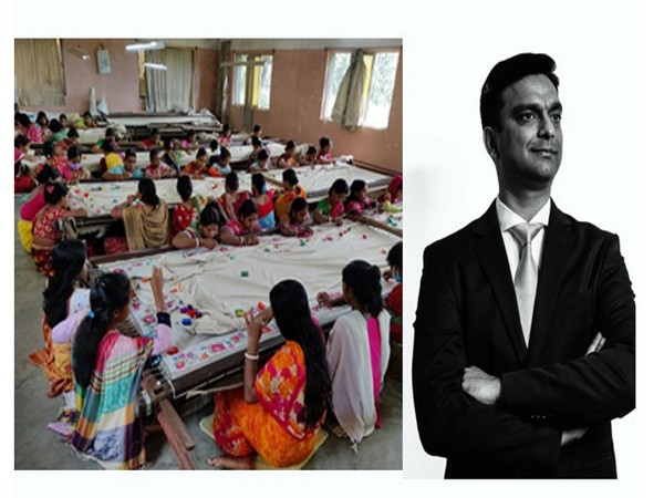 Stitching together a legacy of women empowerment: Prastuti employs more than 1,000 women embroiderers from rural India
