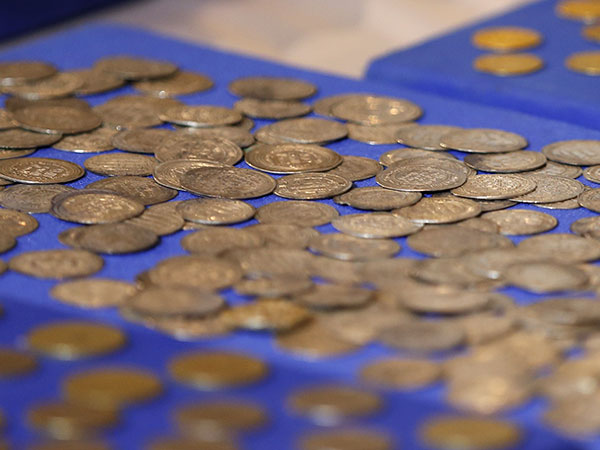 Antique coins worth $25G discovered in attic