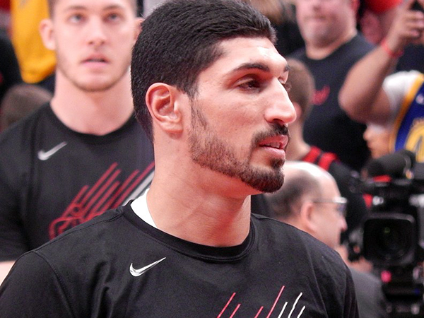 'I don't have a home right now': Turkish NBA player Enes Kanter talks activism, basketball
