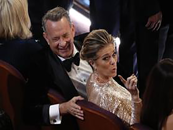 Tom Hanks and Rita Wilson return to Los Angeles after testing positive for coronavirus in Australia