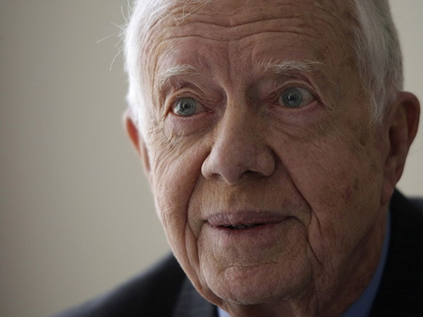 Jimmy Carter reveals Willie Nelson's White House pot-smoking pal: 'One of my sons'