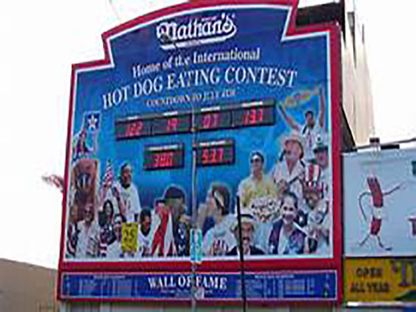 Nathan's Hot Dog Contest open for legal betting for first time
