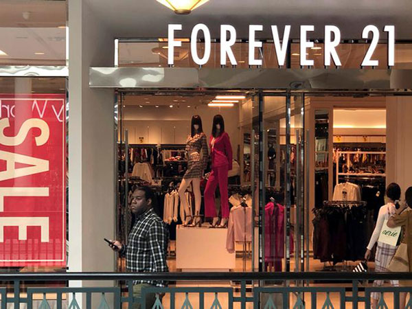 Forever 21 to close all 44 locations in Canada as retailer in bankruptcy proceedings