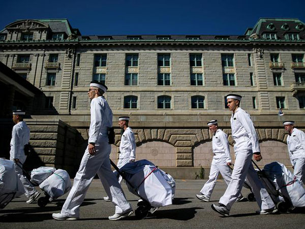 Naval Academy midshipman charged with sexual assault of sleeping classmates