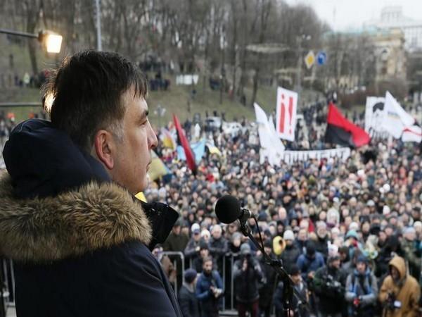 Georgia's former President Saakashvili detained after returning