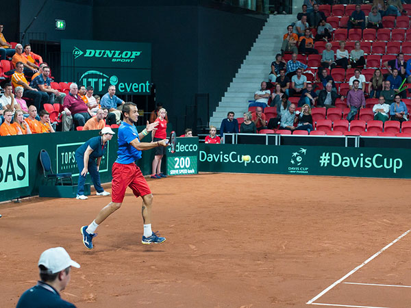 France beat Japan in Davis Cup early session in Madrid
