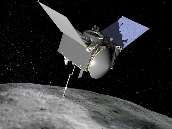 NASA spacecraft leaking asteroid samples into space is 'victim of own success'