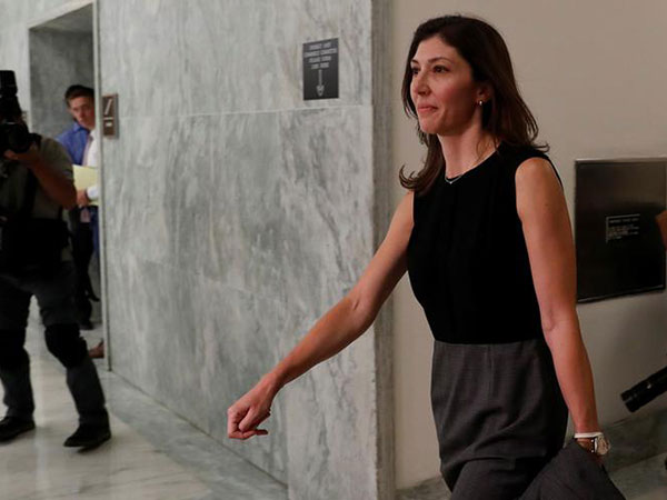 Lisa Page breaks silence, saying Trump's 'fake orgasm' forced her to speak out