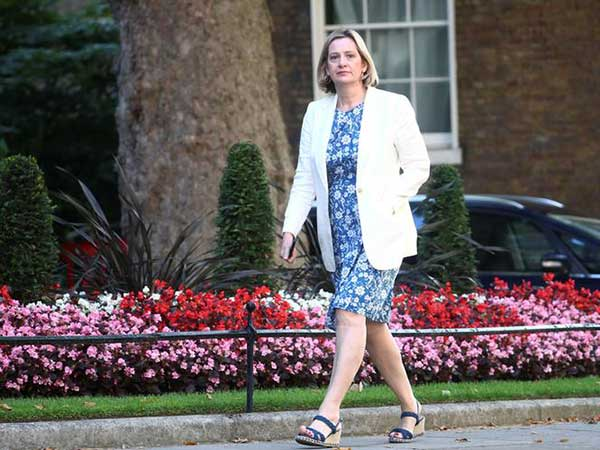 Amber Rudd resigns from UK Cabinet over sacking of rebel MPs