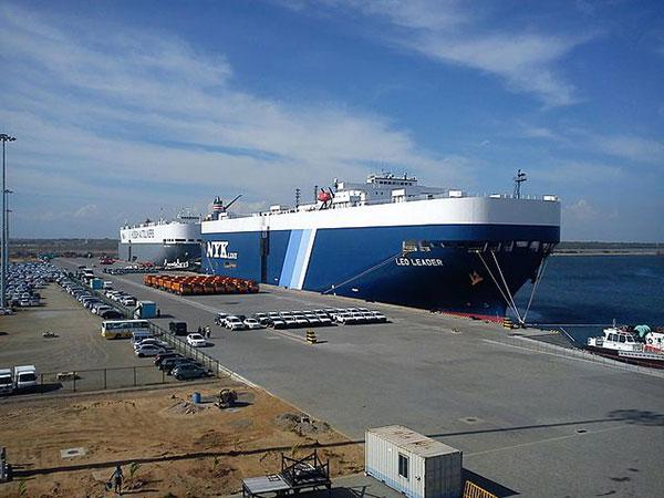 Russian Navy training ship 'Perekop' arrives at Sri Lanka's Hambantota port