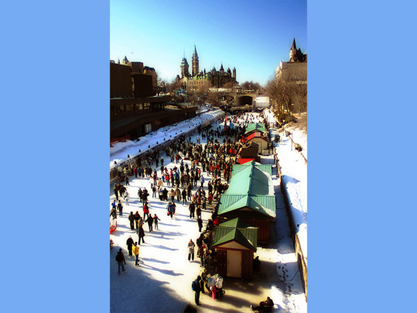 Rideau Canal Skateway extends on Wednesday to almost full length