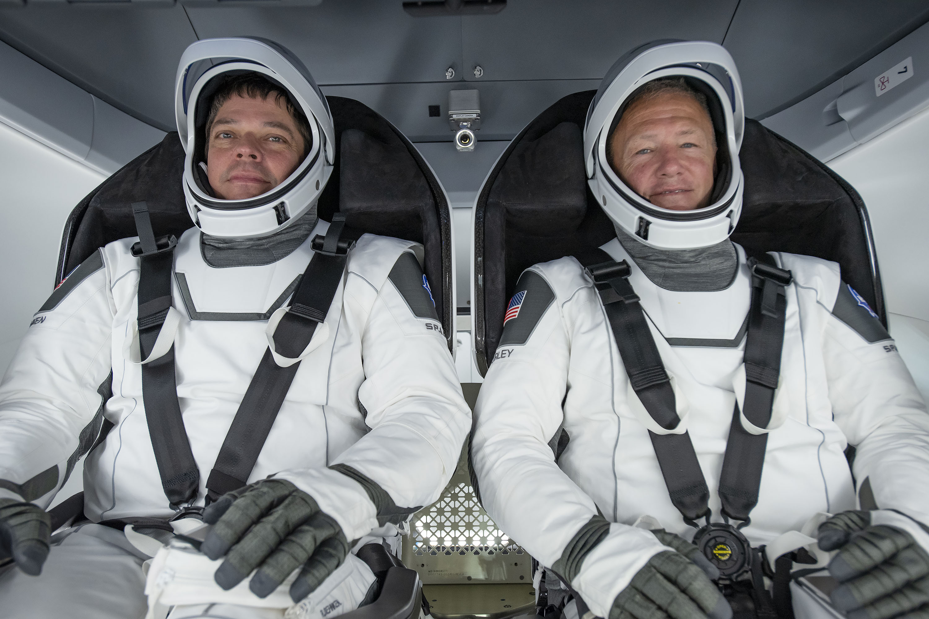 U.S. astronauts discuss 'humbling experience' aboard SpaceX craft