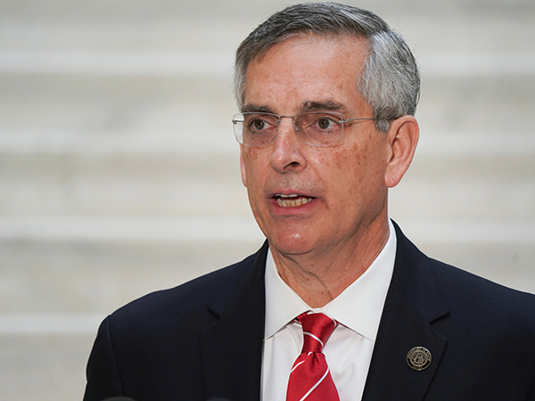 Ga. Sec of State says he'll vote for GOP senators who backed Trump's calls for his resignation