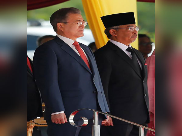 S. Korean president, Malaysian king exchange letters on bilateral ties