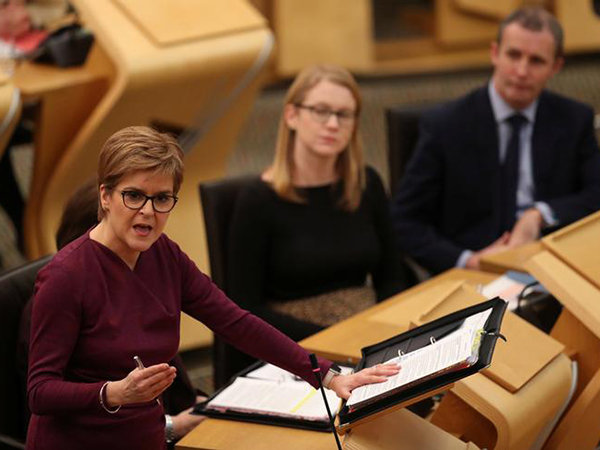 Anger in Scotland after British PM rules out new independence vote