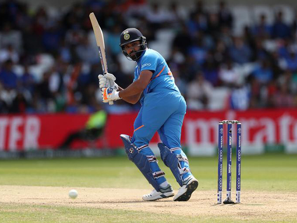 Rohit hits three sixes in a row