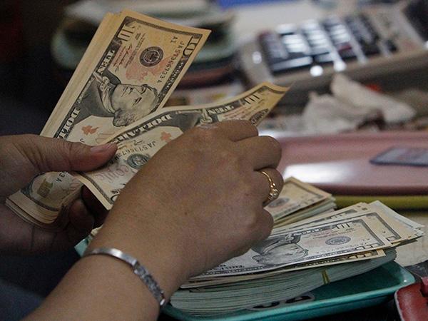 Dollar inflows thru banking channels jump